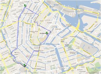 Amsterdam Hotel Map