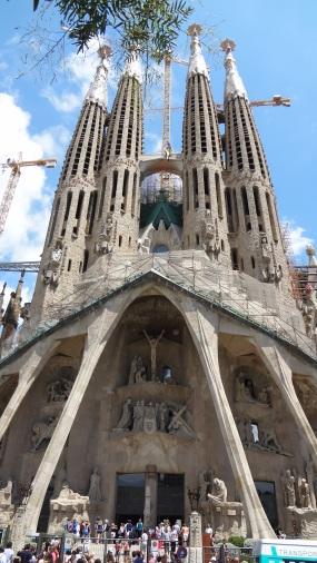 Barcelona- Sagrada Familia Exterior 1