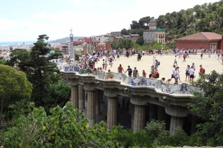 Barcelona- Parc Guell Platform