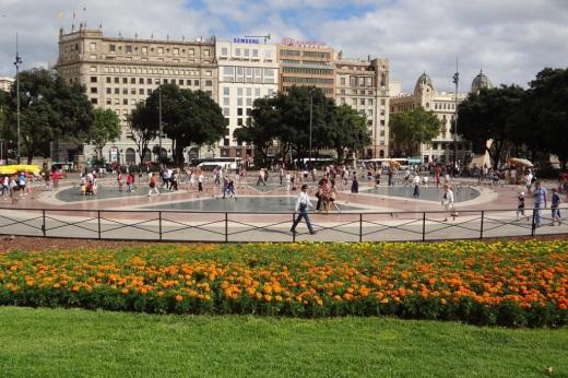 Barcelona- Placa de Catalunya