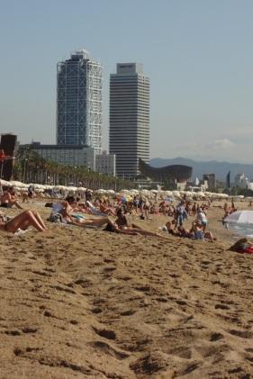 Barcelona- Beach 1