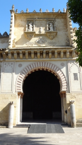 Cordoba- Mezquita Arch Wall