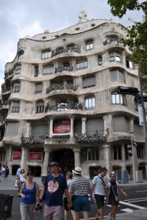 Barcelona- Casa Mila Exterior