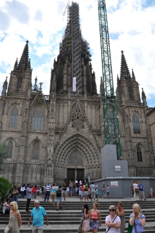 Barcelona- Cathedral 1