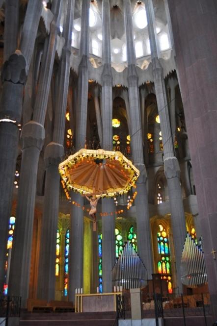 Barcelona- Sagrada Familia Interior