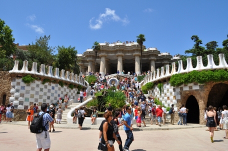Barcelona- Parc Guell Stairs
