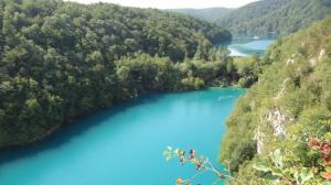Croatia- Plitvica Lakes Above Pic 1
