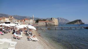 Montenegro- Budva Beach 1