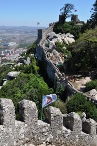 Portugal- Sintra Moorish Castle 1