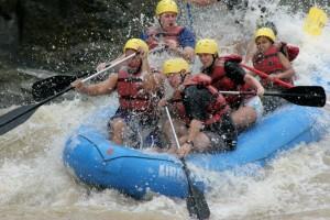 Costa Rica- White Water Rafting 1