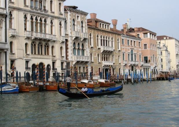 Italy- Venice- Gondoliers 1