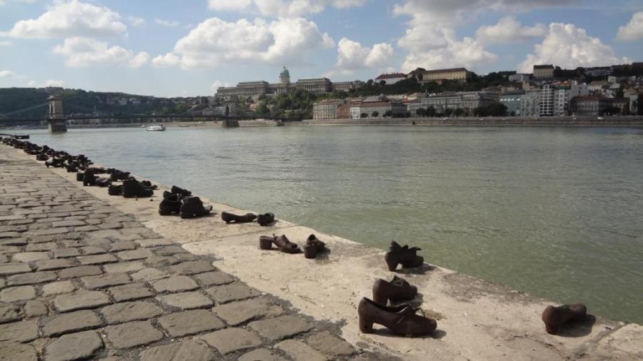 Budapest- Hungary- Holocaust Memorial 1