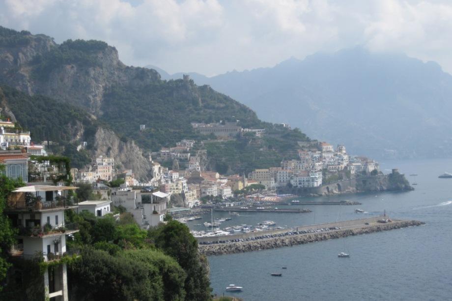 Italy- Amalfi- Coast of the City 1