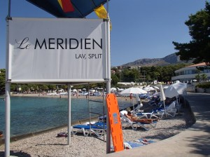 Croatia- Split- Le Meridien Lav Hotel Sign 1