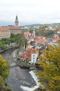 Czech Republic- Cesky Krumlov Water and Castle 1