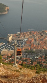 Croatia- Dubrovnik- Cable Cars 3