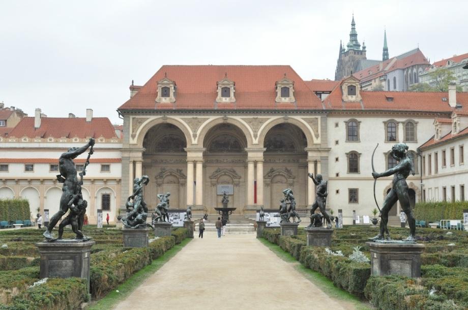 Czech Republic- Prague- Garden Statues 1