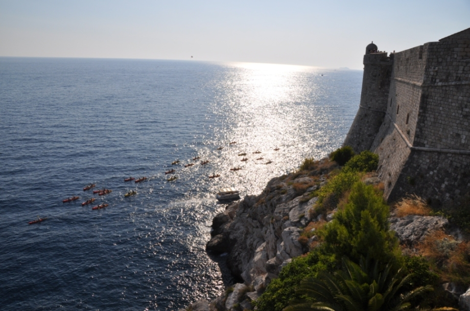 Croatia- Dubrovnik- Walls and Kayaks 1