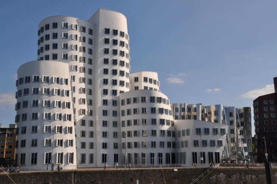 Germany- Dusseldorf- Gehry Building in Media Harbor 1