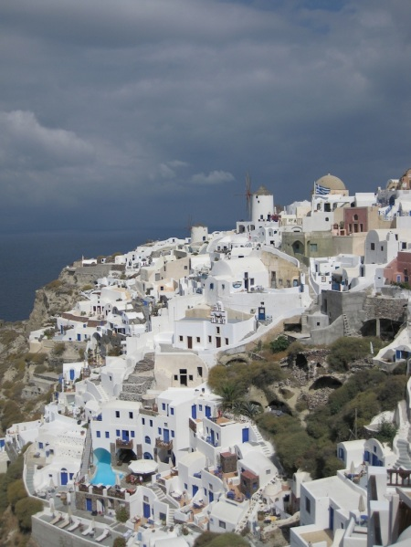 Greece- Santorini- Cascading Houses 1