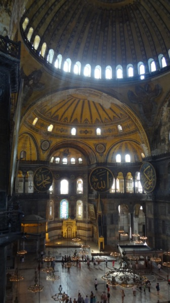 Turkey- Istanbul- Hagia Sofia Interior Dome 1