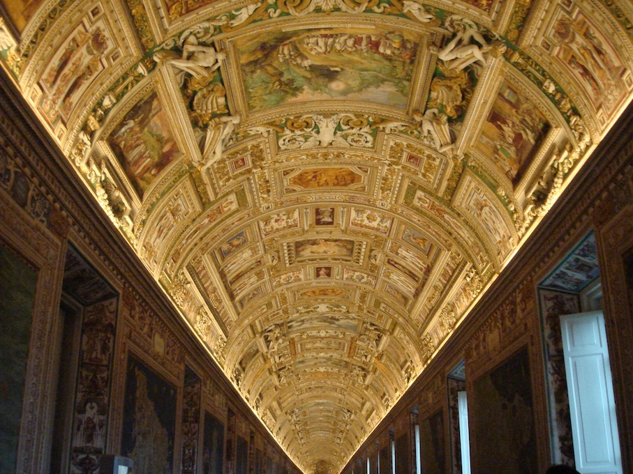 Italy- Vatican- Museum- Ceiling of Pictures 1