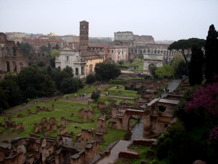 Italy- Rome- Ancient Rome- Ruins 1