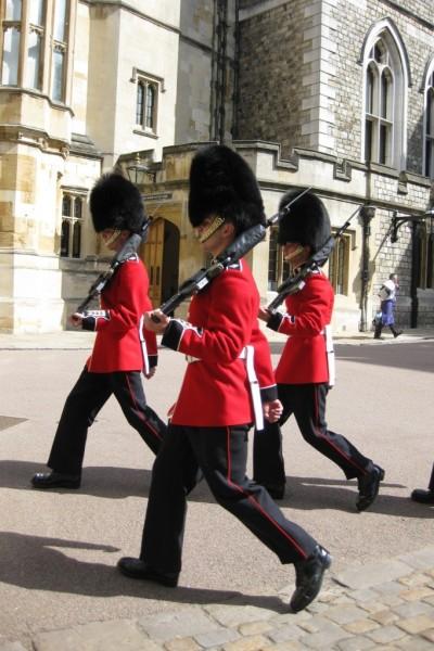 England- Windsor- British Soldiers 1
