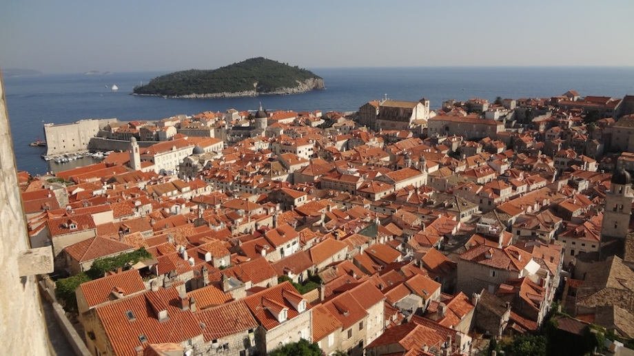 Croatia- Dubrovnik- From the Wall 1
