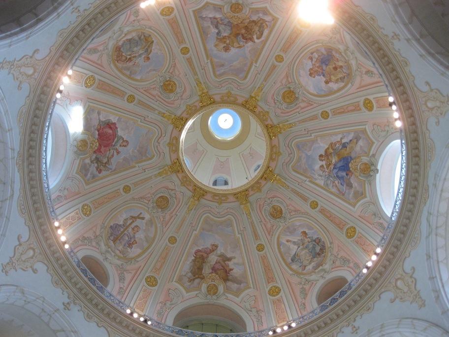 Germany- Dresden- Frauenkirche Interior Dome 1
