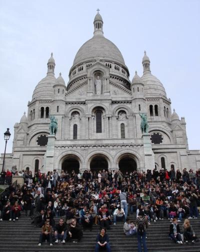 France- Paris- Sacre Coeur 1