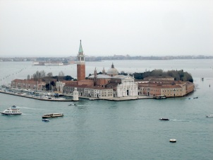 Italy- Venice- View from St Mark's Bell Tower 1