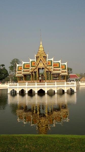 Thailand- Ayutthaya- Ba Pa-In Palace- Grounds 1