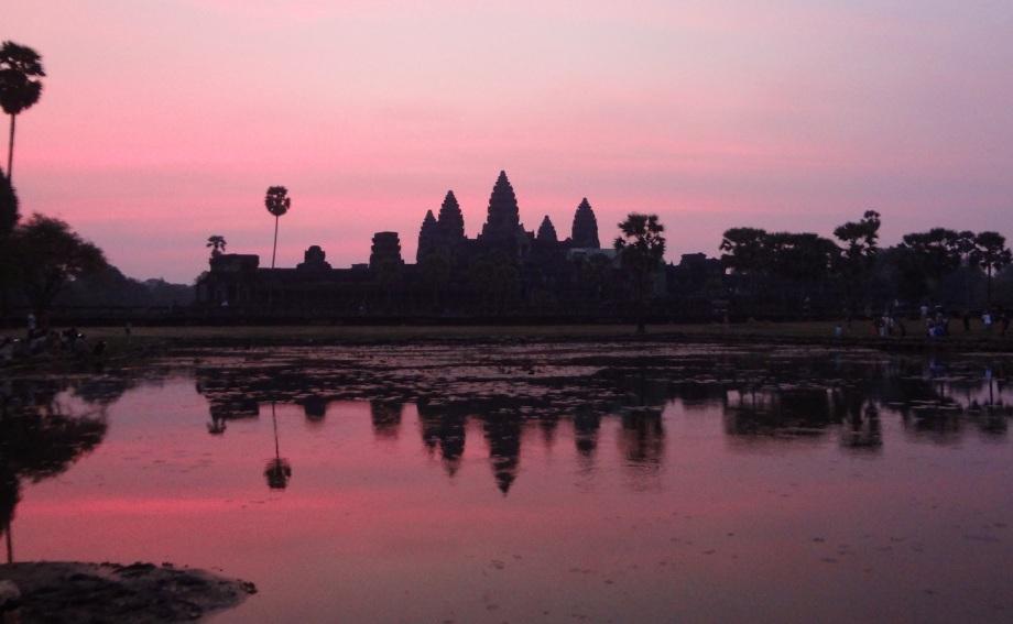 Cambodia- Siem Reap- Angkor Wat- Sunrise at Angkor Wat 1