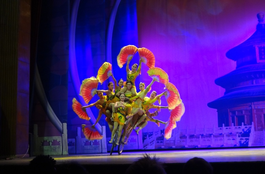 China- Beijing- Acrobatics Show 1