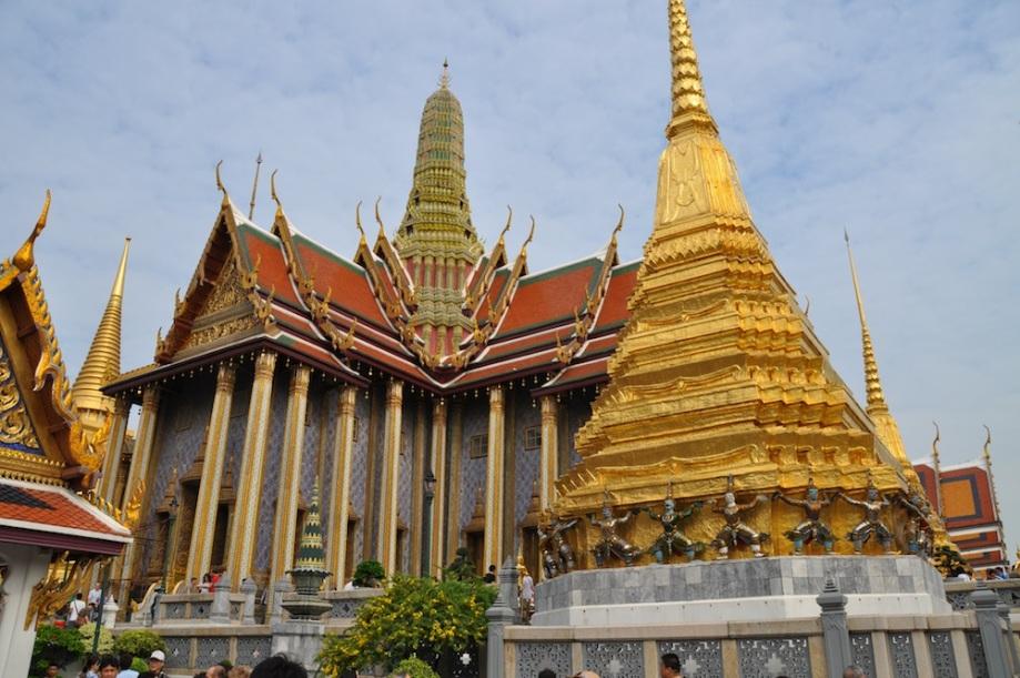 Thailand- Bangkok- Wat Phra Kaew- Grounds 1