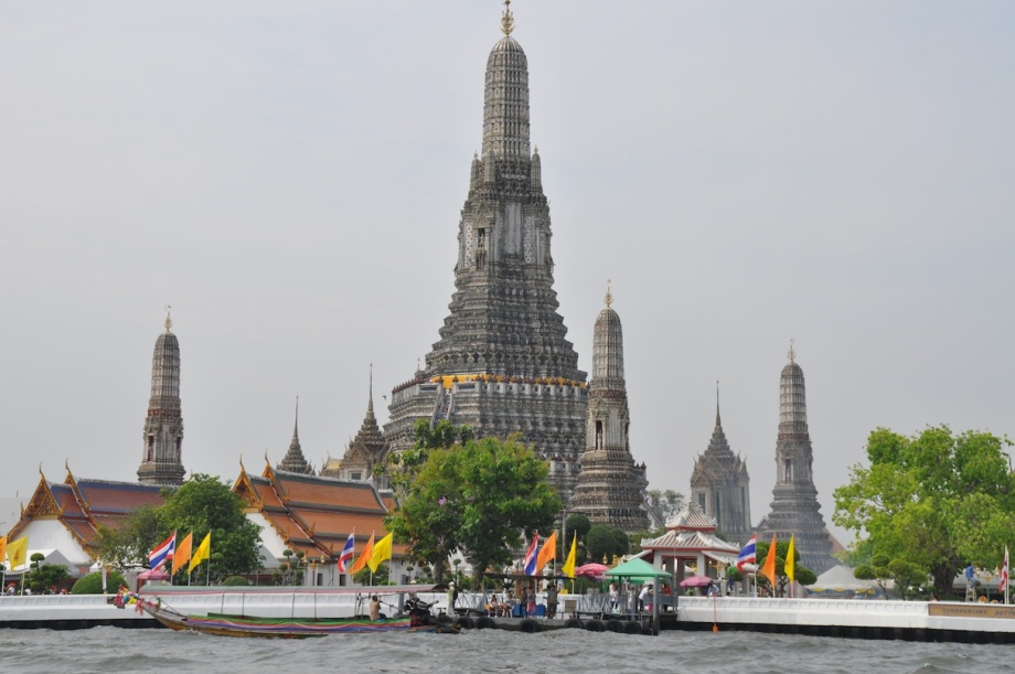 Thailand- Bangkok- Wat Arun- From the Water 1