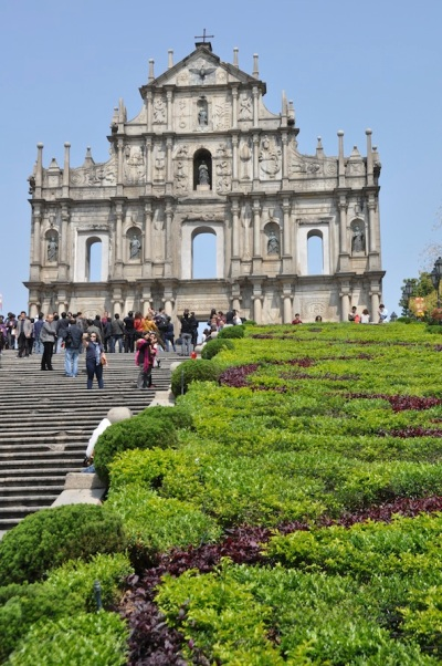 Macau- Ruins of St. Paul 1