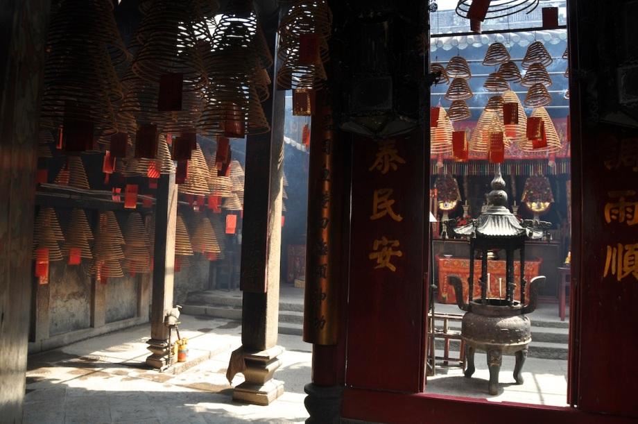 Macau- Side Street- Squiggly Things 1