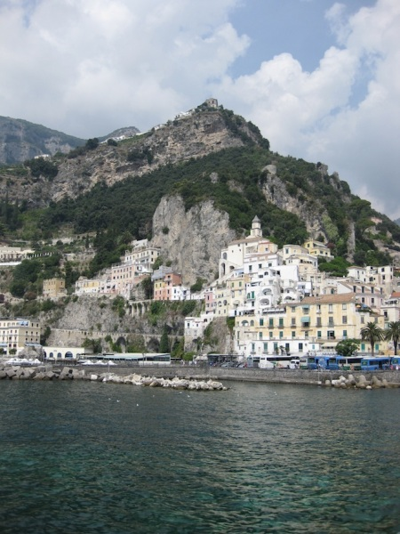 Italy- Amalfi- Coast from the Water 1