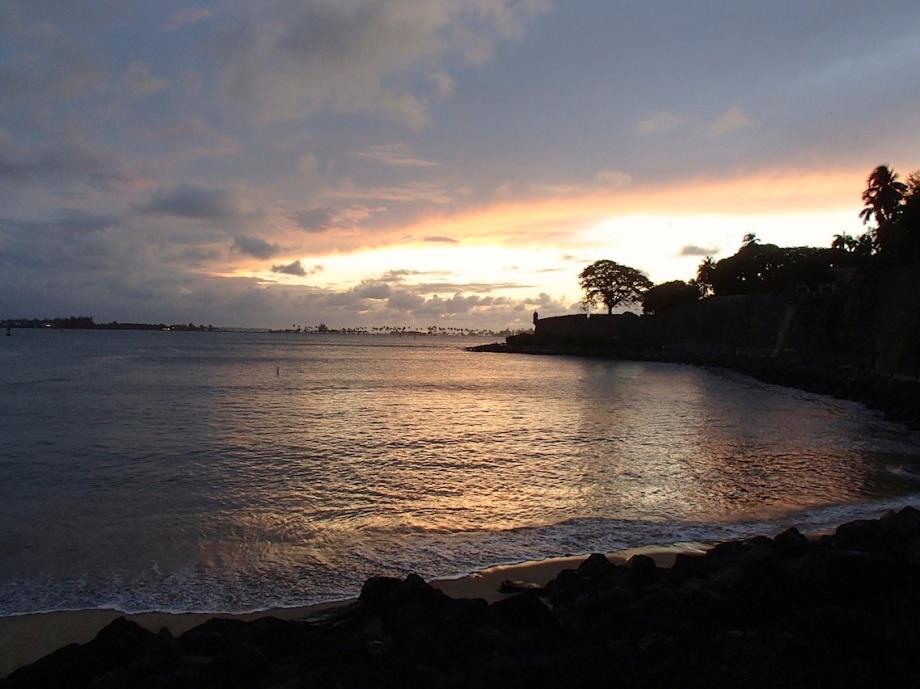 Puerto Rico- San Juan- Sunset 1