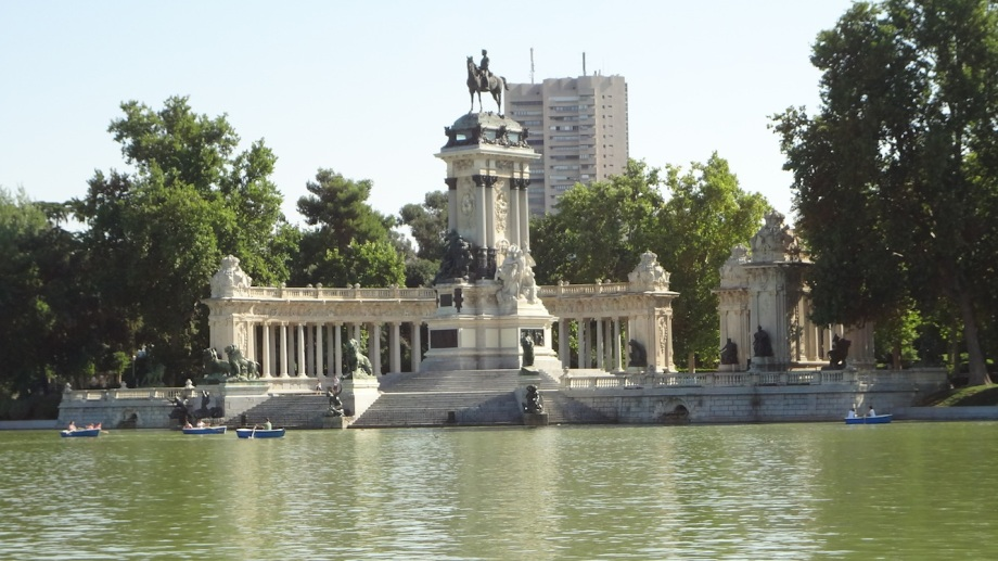 Spain- Madrid- Retiro Park Boats 1