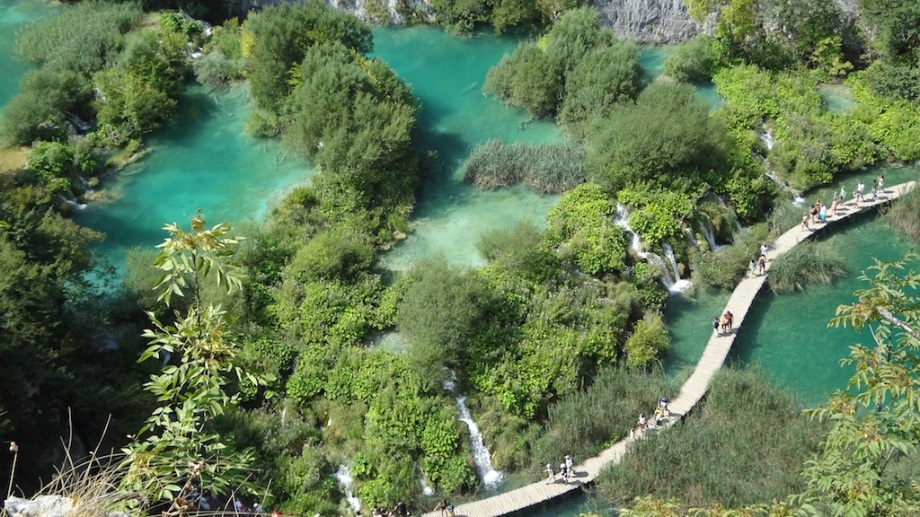 Croatia- Plitvice Lakes- From Above Path 1