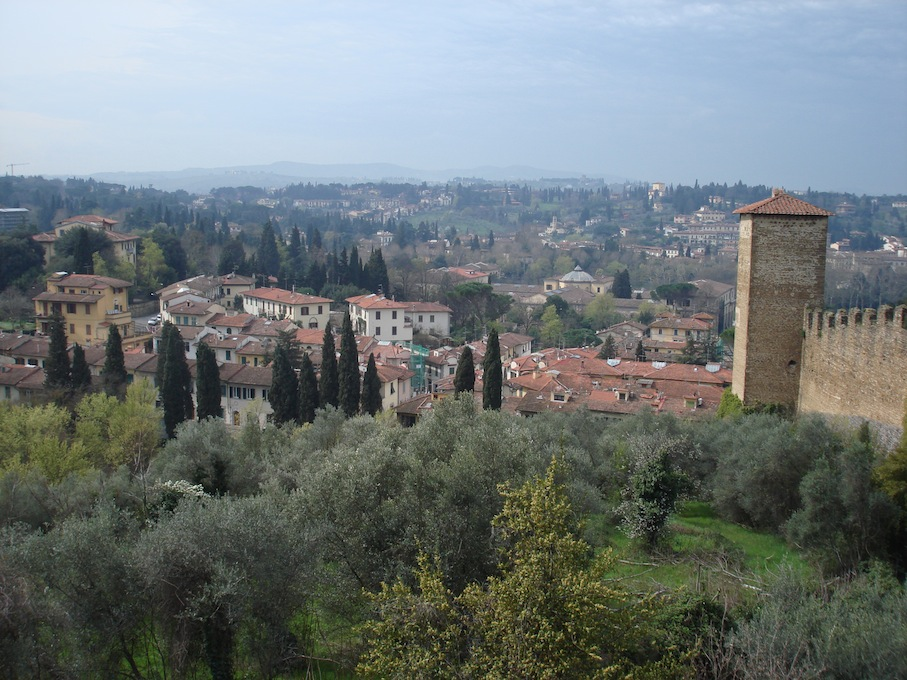 Italy- Florence- View from Boboli Gardens 1