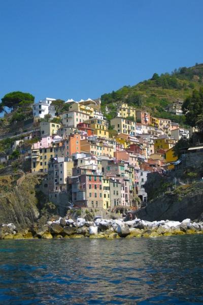 Italy- Cinque Terre- Riomaggiore- Waterfront 1