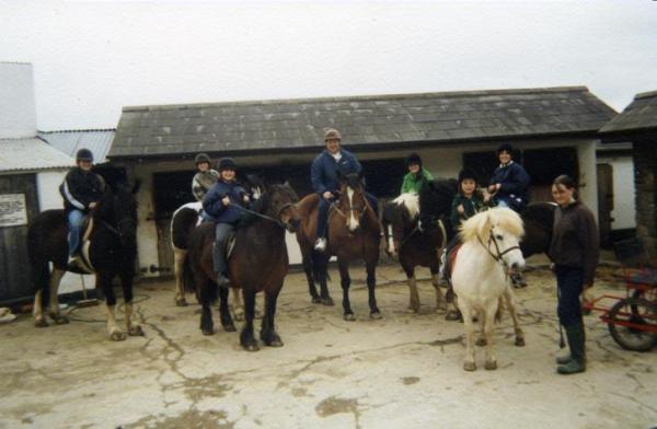 Ireland- Horseback Riding 1