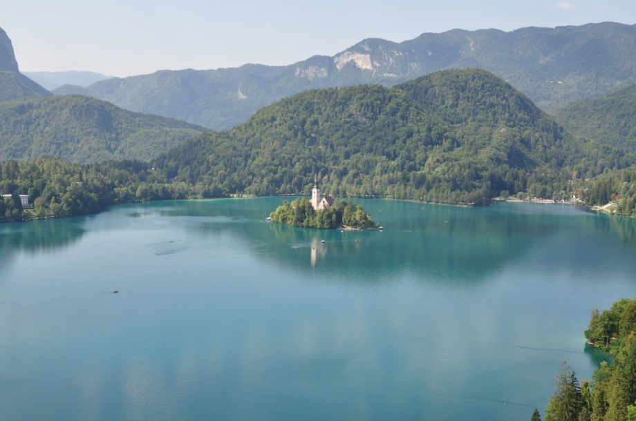 Slovenia- Lake Bled- From Bled Castle 1