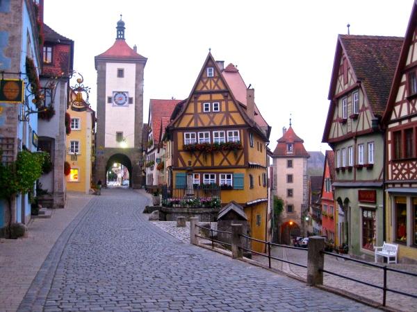 Germany- Rothenberg ob der Tauber- Corner Updated 1