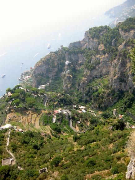 Italy - Ravello - Villa Cimbrone View 1