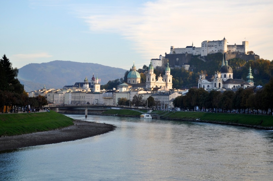 Austria - Salzburg View of the City Day 1
